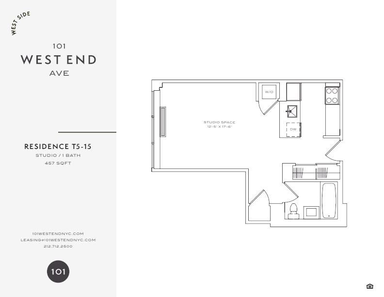 Floor plan for 5T