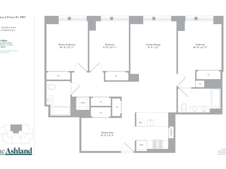 The Ashland #48J Floorplan