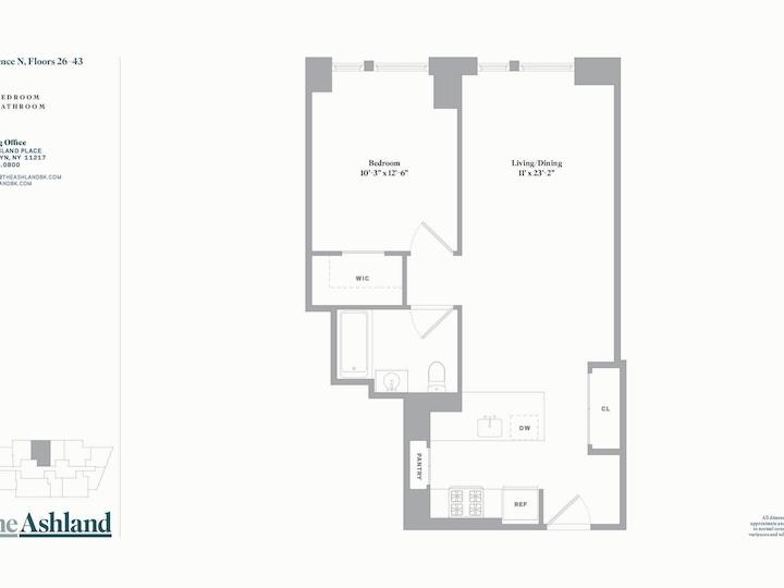 The Ashland #30N Floorplan