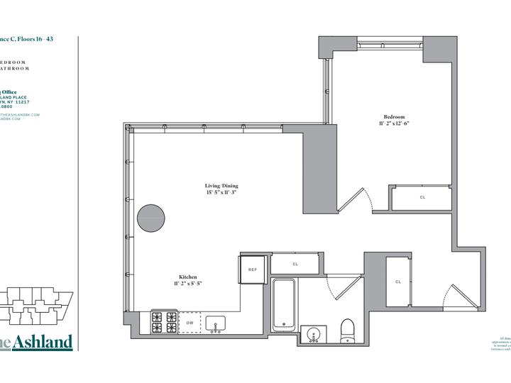 The Ashland #25C Floorplan