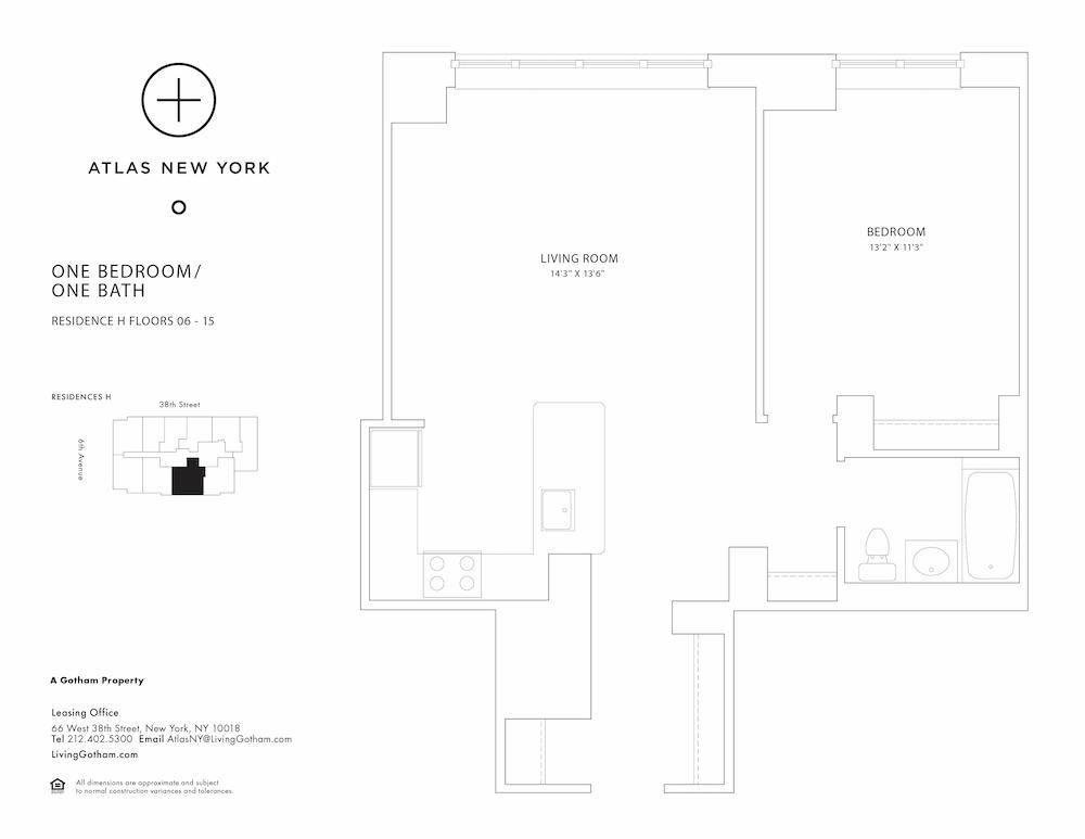 Atlas New York: 15H