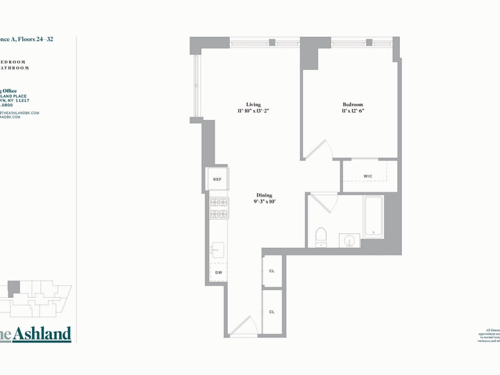 The Ashland #24A Floorplan