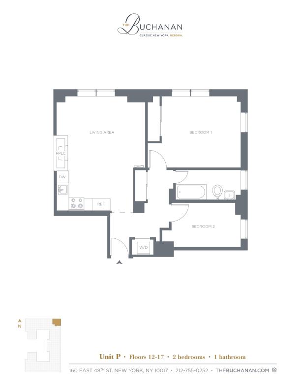 Floor plan for 03P