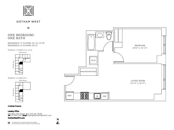 Gotham West #2817 Floorplan