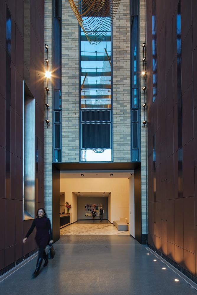 The Ashland: 48D a door to a building